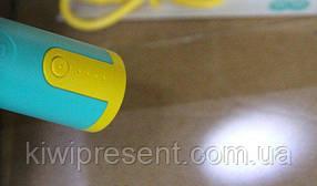 Повербанк портативный на 2500 мАч (цилиндр) с индикацией ёмкости и фонариком, фото 2