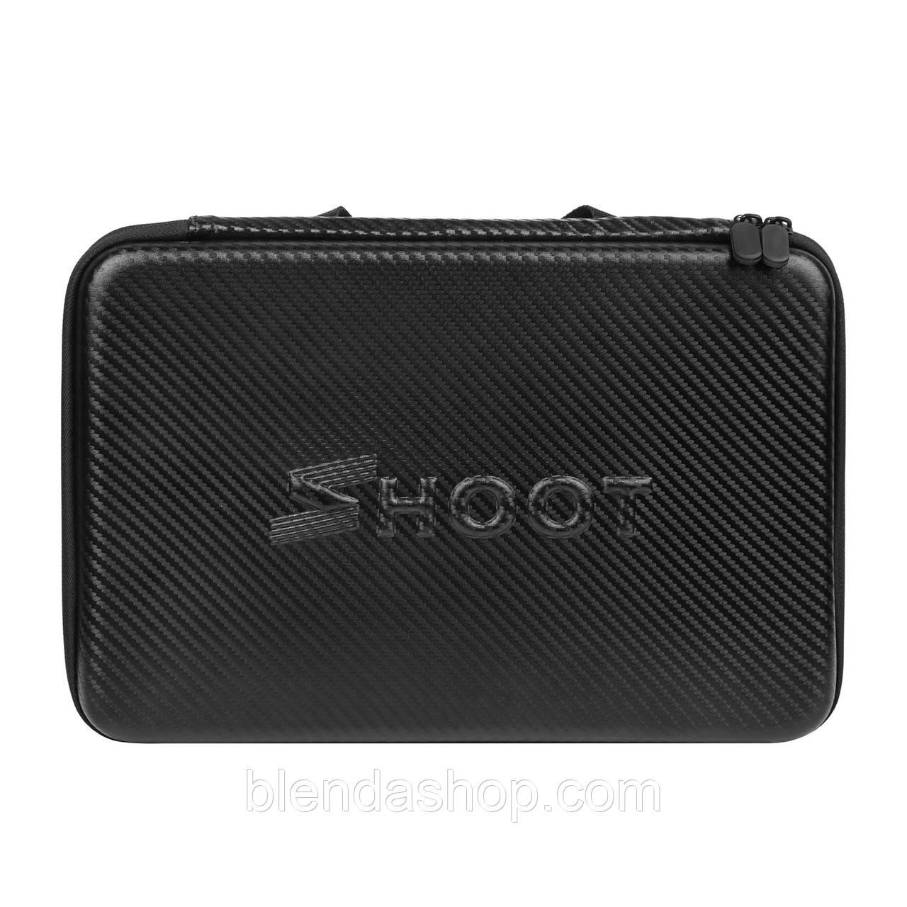 Кейс, футляр SHOOT для экшн-камер (32.5 х 21,7 х 6,5) для Gopro, SJCAM, Xiaomi и других камер (код № XTGP427)