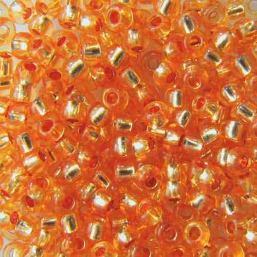 Бисер чешский 08289 5гр оранжевый