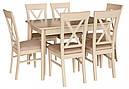 Стіл Лекс венге120(+40)*80 обідній розкладний дерев'яний, фото 8
