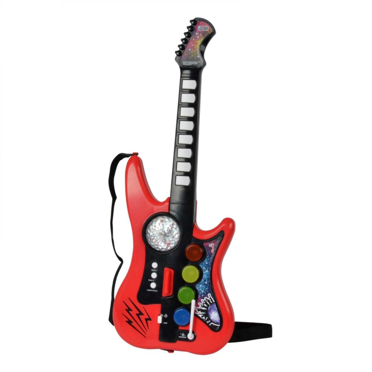 Simba Гитара Диско 10 звуковых эффектов 66 см 6834102 Gitar