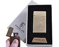 """USB зажигалка в подарочной упаковке """"MOTOR HARLEY-DAVIDSON COMPANY"""" (спираль накаливания) №4798D-4"""
