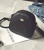 Жіноча маленька сумочка на блискавці з прикрасою опт, фото 1