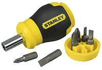 Отвертка STANLEY Multibit Stubby со сменными битами