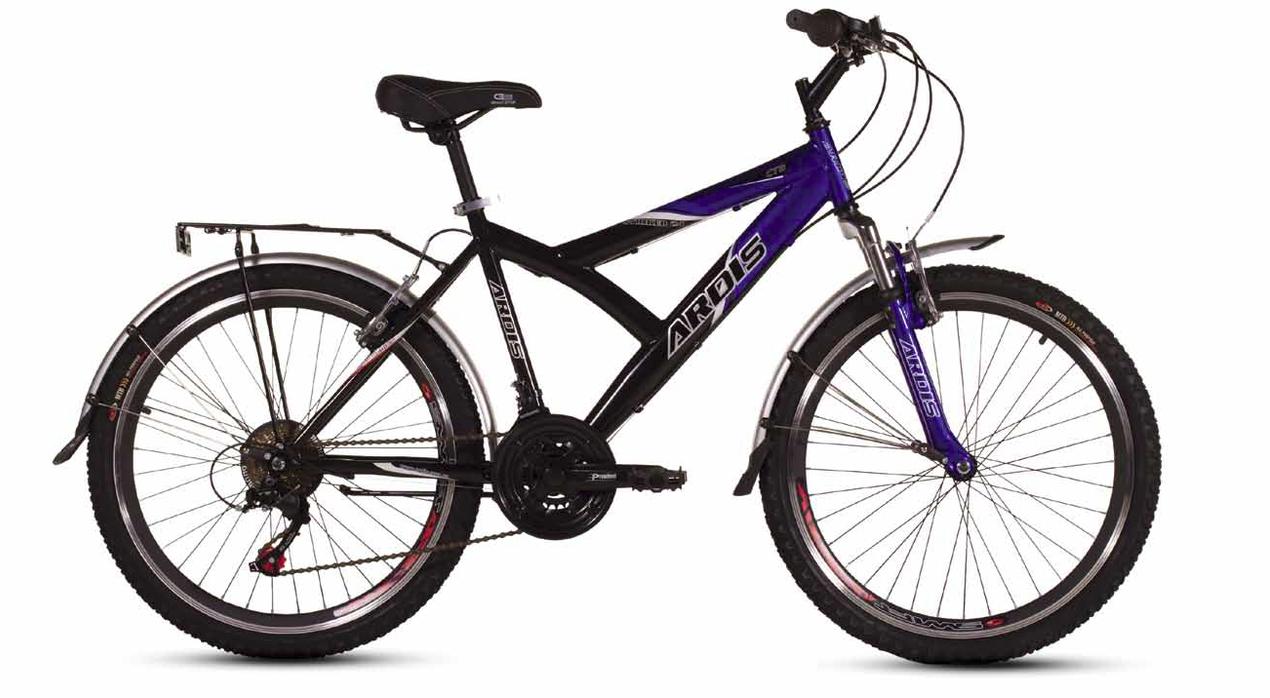 """Горный велосипед ARDIS STRIKER CTB 26"""" 17""""  Черный/Синий"""