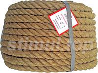 Канат джутовый верёвка 14 мм 50 метров