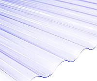 ПВХ лист Salux (Шифер ПВХ) прозрачный волна