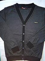 Джемпер школьный на мальчика Размеры 140- 176 Темно-Серый цвет