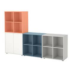 Сочетание шкафов с ногами, многоцветный 2, 210x35x142 см IKEA EKET 191.909.29