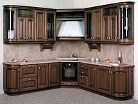 кухня дуб с радиусными фасадами фото 10