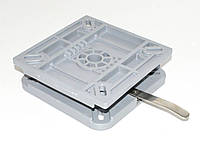 Поворотная пластина съемная, пластик с фиксатором 387010L