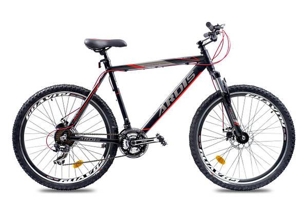 """Горный велосипеды ARDIS SUNLIGHT MTB 26"""" 21""""  Черный/Красный"""