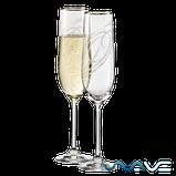 Bohemia Viola Набор бокалов для шампанского 2*190 мл (40729), фото 2