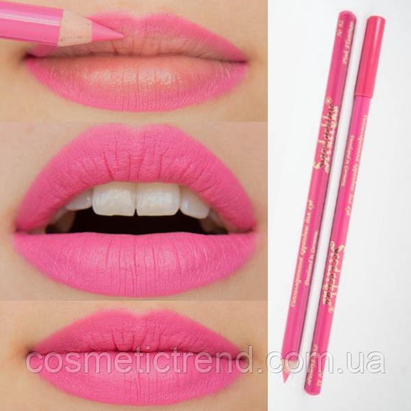 Контурний олівець для губ дерев'яний №82 Pink Flamingo Serdechko (Німеччина/Чехія)