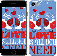 "Чехол Love is all you need ""3462c-336-9602""Для Apple, Samsung, Nokia, HTC, Sony, Lenovo, Xiaomi, Meizu и др."