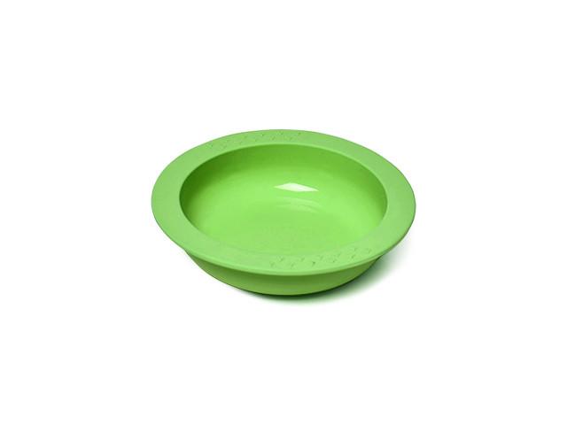 Детская глубокая тарелка Fissman KIDS 13см/260мл (Силикон)