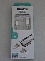 Кабель магнітний шнур iPhone Lightning Usb Magnetic Cable