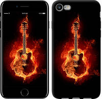 """Чехол Горящая гитара """"183c-336-9602"""" Для Apple, Samsung, Nokia, HTC, Sony, Lenovo, Xiaomi, Meizu и др."""