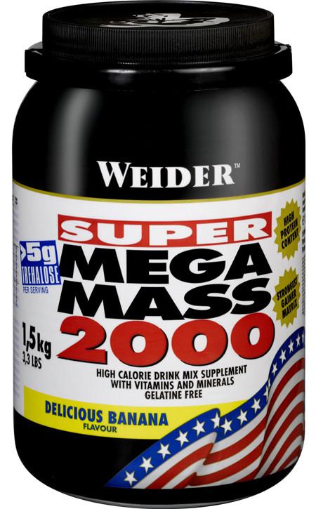 Гейнер Weider Mega Mass 2000 1,5 kg