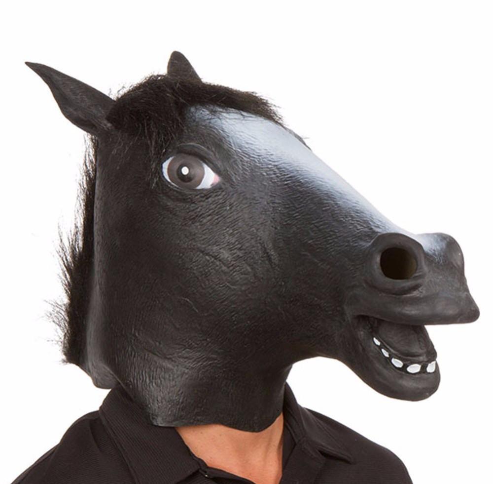 Маска чорного Коня, фото 1