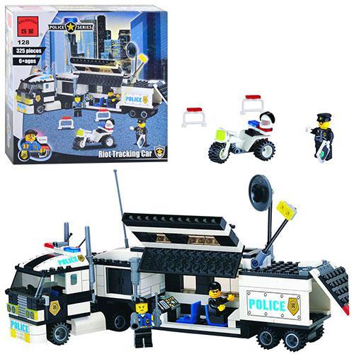 "Конструктор ""Машина слежения"" Riot Tracking Car из серии ""Полиция"" Police Series от компании Brick"