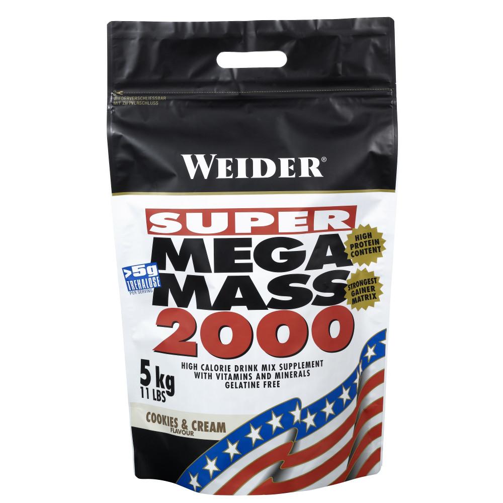 Гейнер Weider Mega Mass 2000 5 kg
