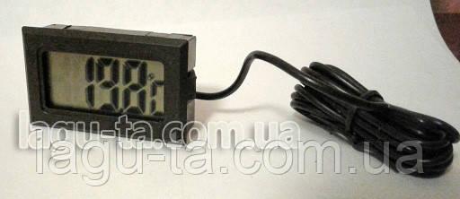 Термометр с датчиком 2 метра, встраиваемый