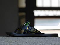 Мужские вьетнамки Rider Черный\Желтый 10182
