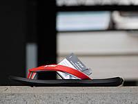 Мужские вьетнамки Rider Черный\Серый-Красный 10163