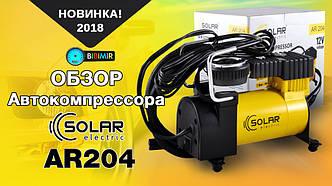 Обзор автокомпрессора Solar AR204