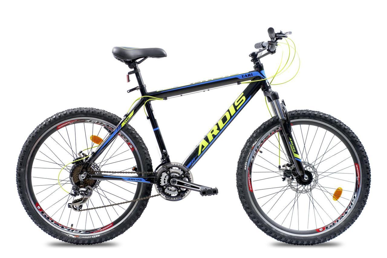 """Горный велосипед ARDIS TARI MTB 26"""" 19""""  Черный/Синий"""