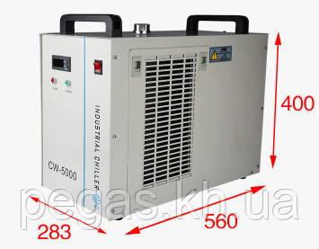 Чиллер, охладитель лазерных станков и фрезерных станков CW5000