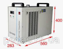 Чиллер, охолоджувач лазерних верстатів і фрезерних верстатів CW5000