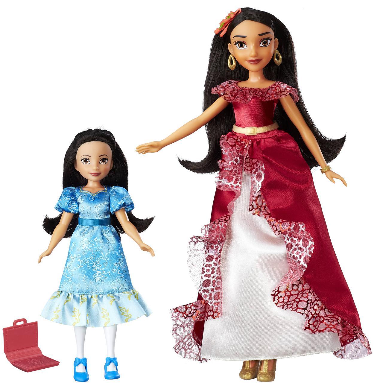 Disney Принцессы диснея Набор кукол принцессы Елены и её младшей сестры Изабель Elena of Avalor & Princess