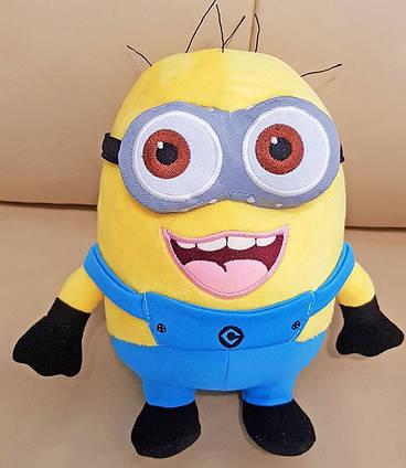 Іграшка Міньйон плюшевий 25 см м'яка іграшка