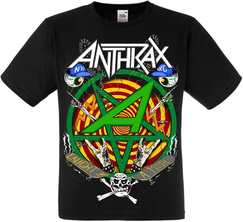 "Футболка Anthrax ""Caught In A Mosh"""