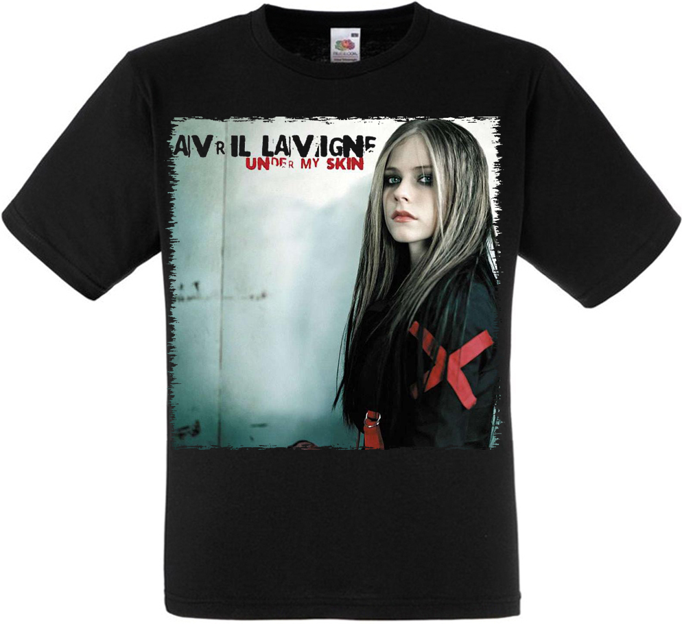 "Футболка Avril Lavigne ""Under My Skin"""