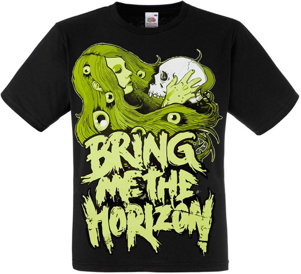 Футболка Bring Me The Horizon (girl and skull)