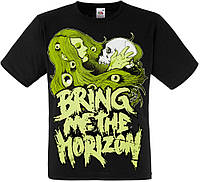 Футболка Bring Me The Horizon (girl and skull)