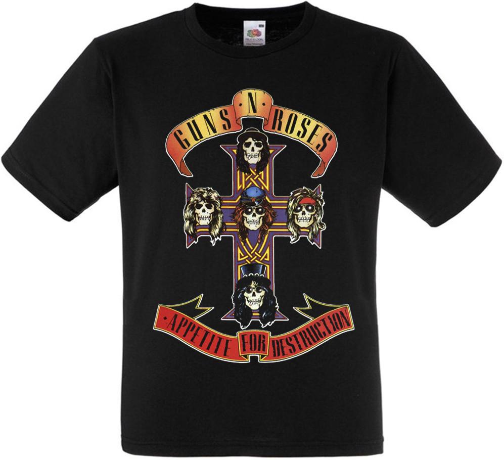 "Футболка Guns N' Roses ""Appetite For Destruction"""