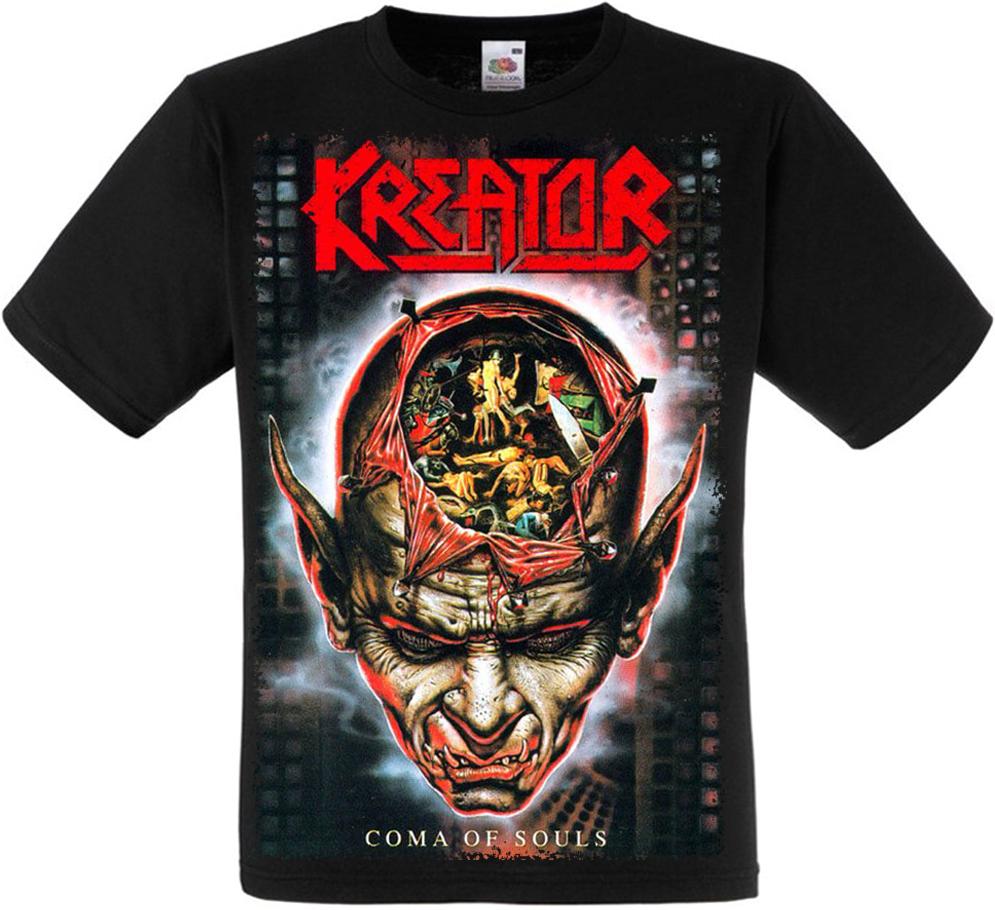 """Футболка Kreator """"Coma of Souls"""""""