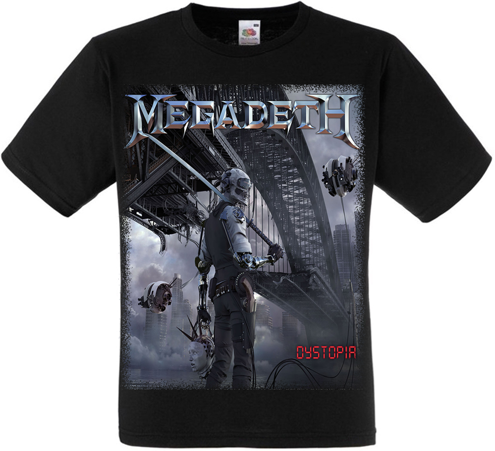 "Футболка Megadeth ""Dystopia"""