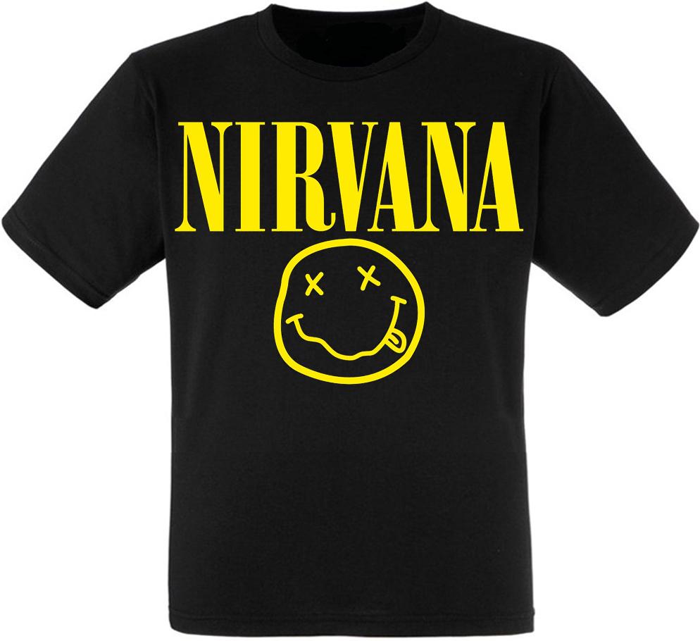 Футболка Nirvana (logo)