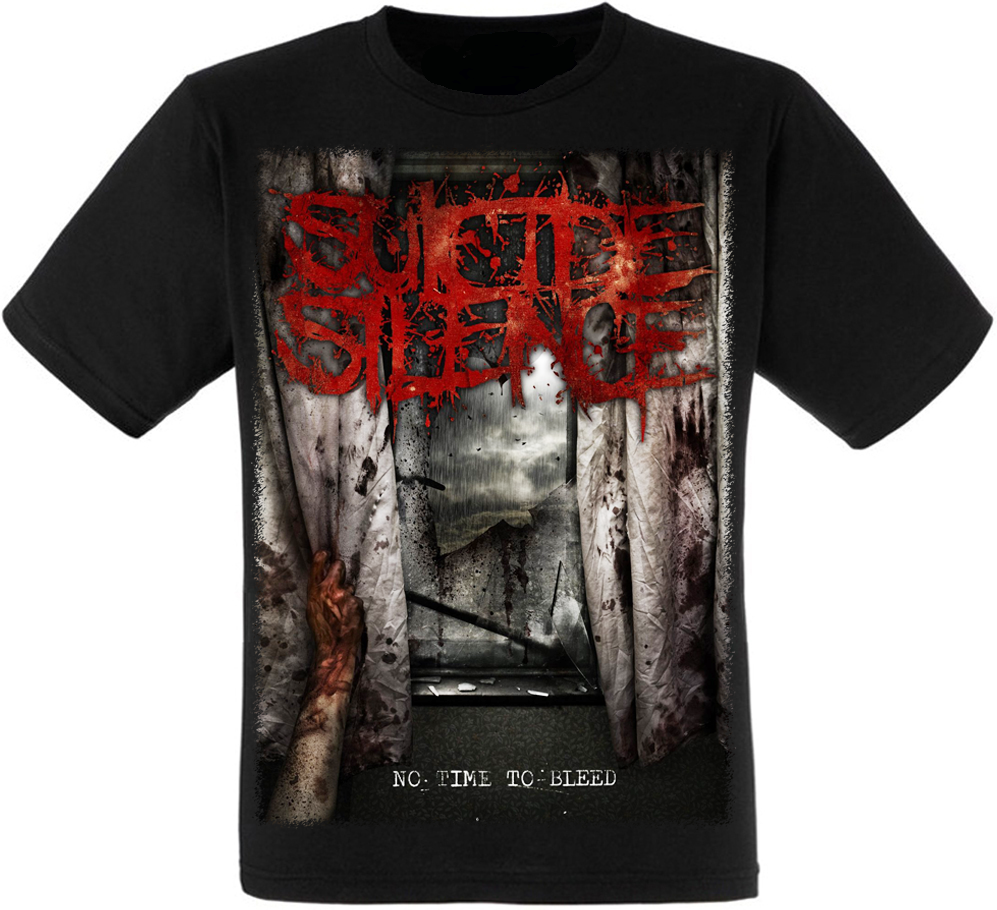 "Футболка Suicide Silence ""No Time To Bleed"""