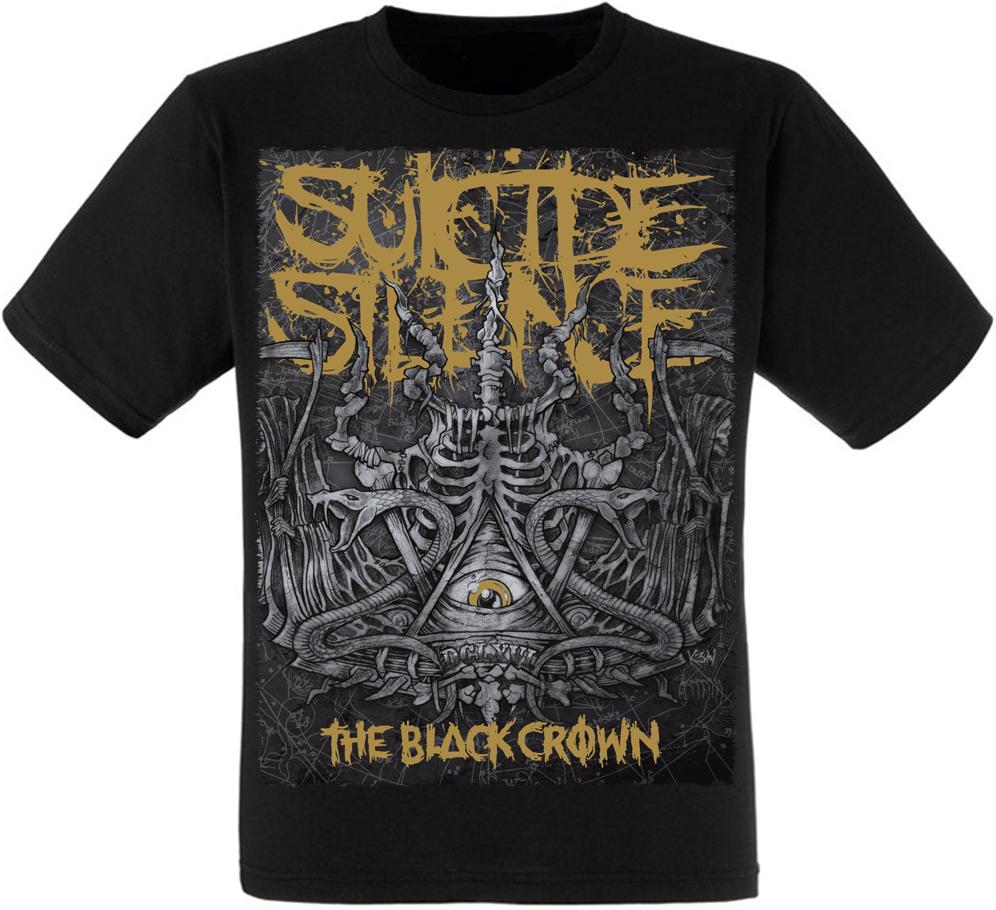 "Футболка Suicide Silence ""The Black Crown"""
