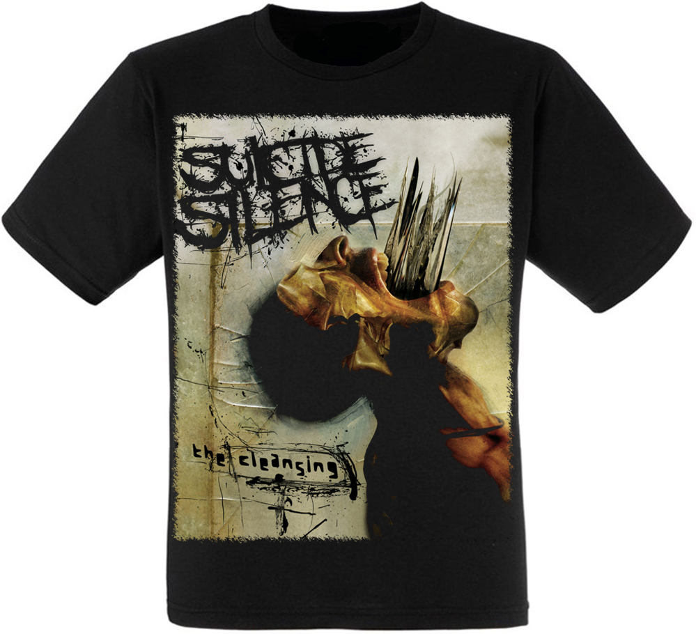 "Футболка Suicide Silence ""The Cleansing"""