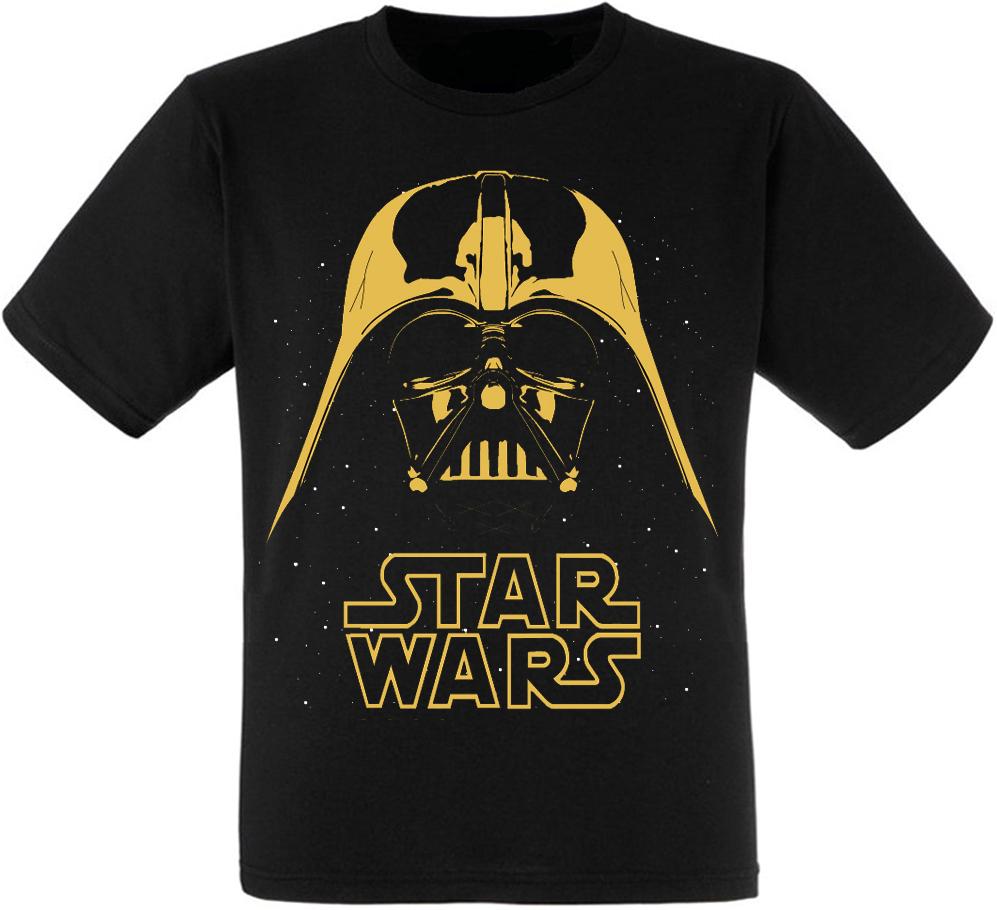 "Футболка Star Wars ""Darth Vader"" (yellow)"