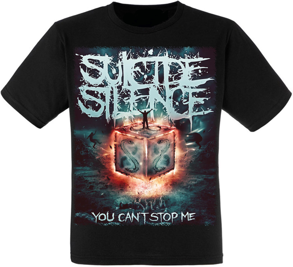 """Футболка Suicide Silence """"You can't Stop Me"""""""