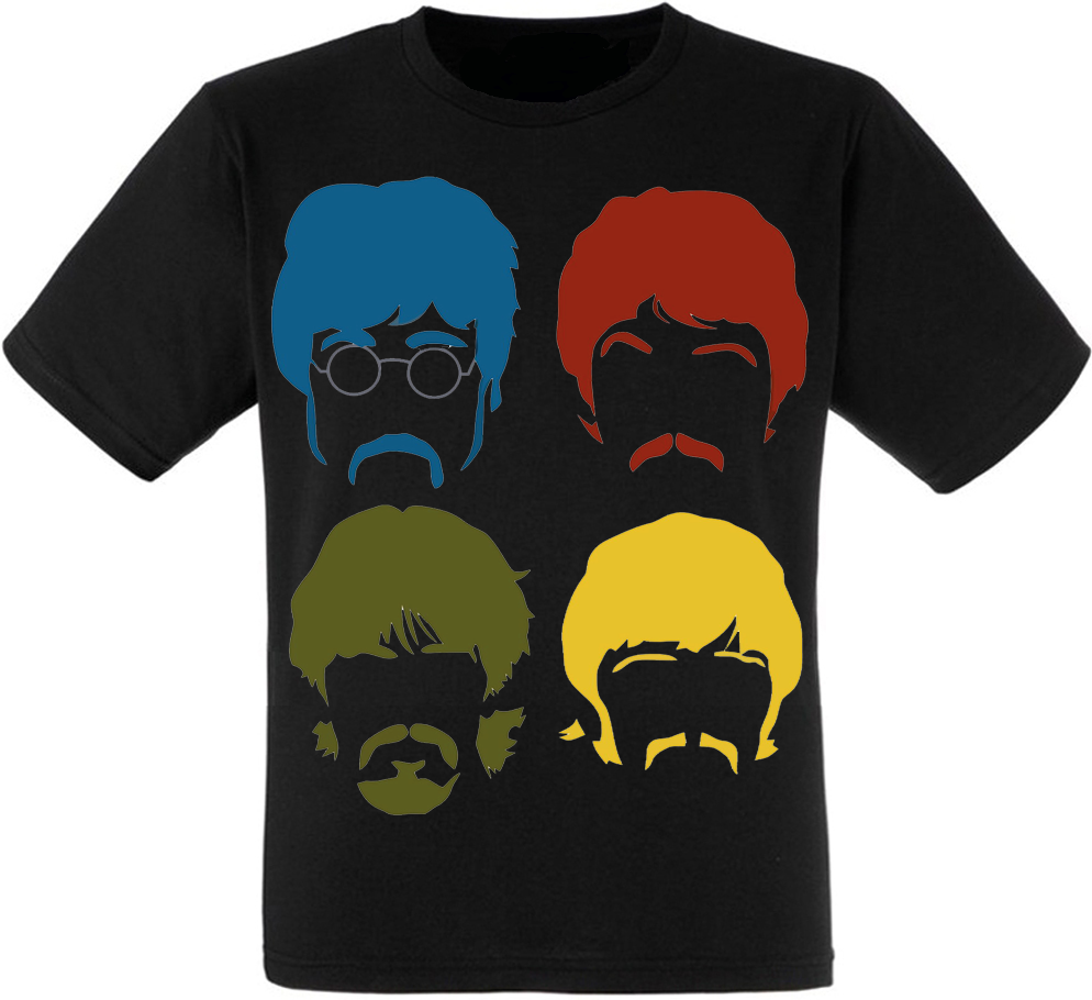 Футболка The Beatles (band minimalism)
