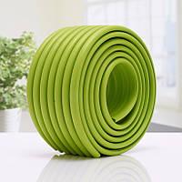Широка Ребриста лента на мебль та стіни. Зелена.
